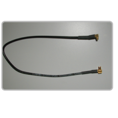 """Teletronics 16-305 11"""" Cable w/ MMCX Male to MCX Male"""