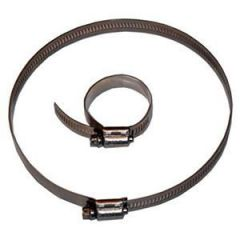 """Tycon Power Systems 5700018 2"""" - 6"""" All Stainless Hose Clamp"""