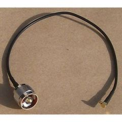 """Laird Technologies CA100-NM-MMCX-12 N-Male to MMCX Pigtail, 12"""""""