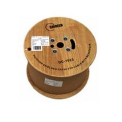 Shireen Inc DC-1023 CAT5e Shielded w/ messenger wire, 1000ft