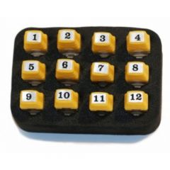 Platinum Tools T128C ID Only Network Remotes, #1-12